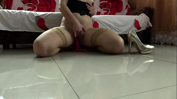 Anal, Stocking, Stockings, Orgasm, Vibrator orgasm, Stockings anal