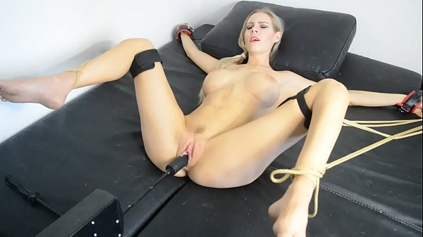 Machine, Tied and fucked
