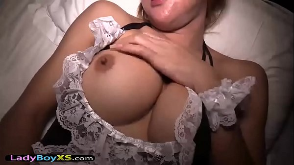 Ladyboy, Uniform, Maid fucking