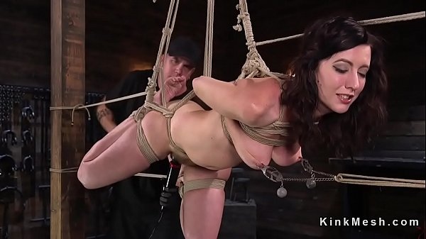 Hairy pussy, Torment, Hogtie