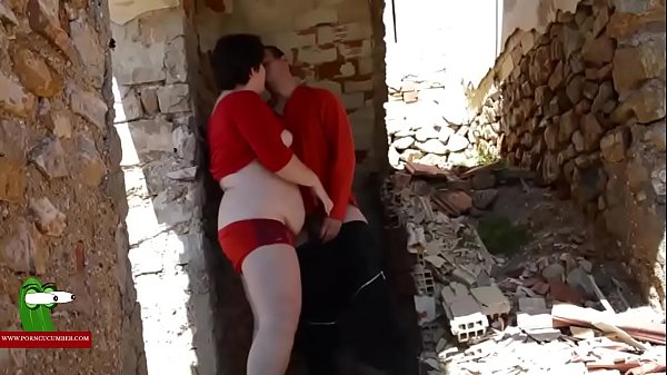 House, Red, Ruined, Dressed, Dress fuck