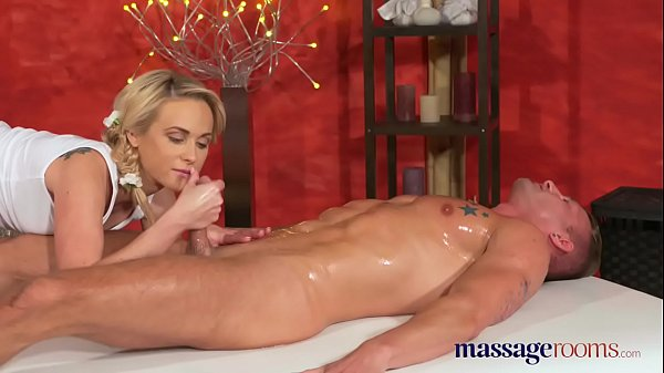 Massage fucks, Blonde, Blonde creampie