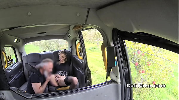 Fake taxi, Stocking footjob