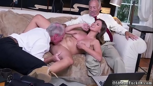 Grandpa, Old and young, Young creampie, Ivy