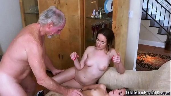 Young and old, Spank fuck