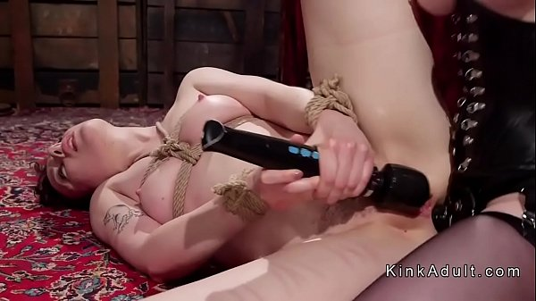 Lesbian, Tied, Tied up, Tie, Fucking, Tied anal